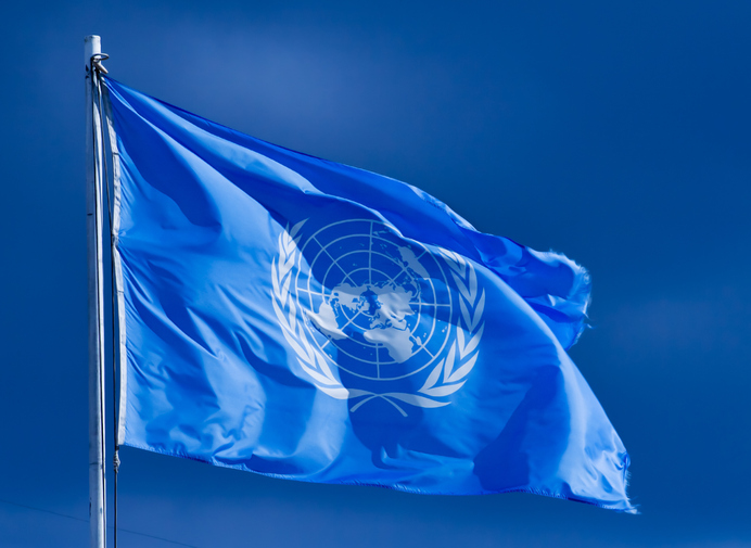 UN flag source
