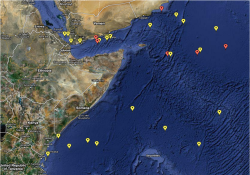 Somali pirates range far beyond their shores to hijack vessels